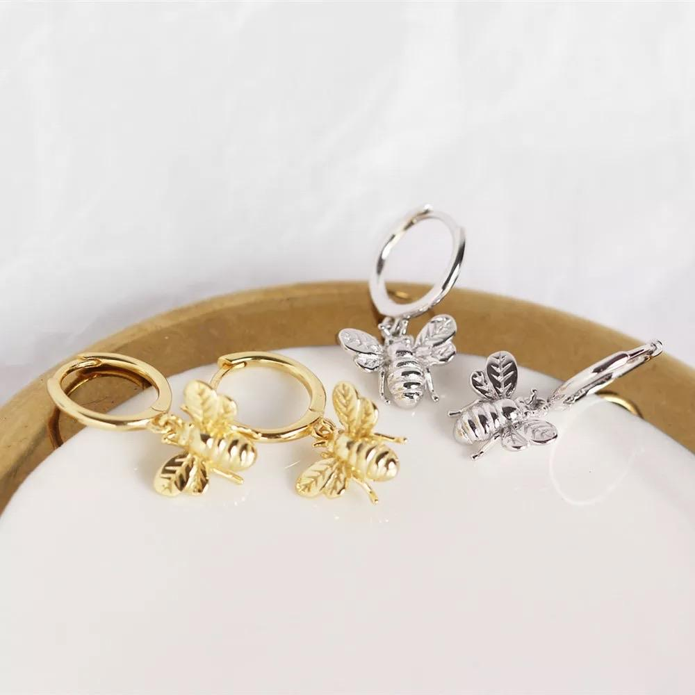 Cute Bees 925 Silver - Ellevoke