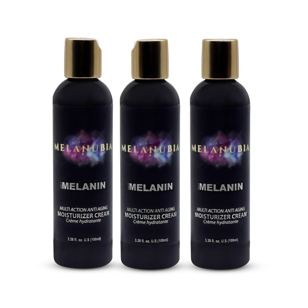 MELANUBIA HERBAL MELANIN INFUSED ANTI-STRESS MOISTURIZER *COMBO