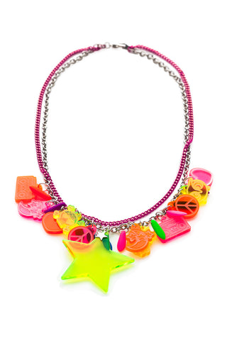 NEON SUNSHINE NECKLACE