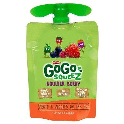 GoGo SqueeZ Organic Fruit and Vegetable Sauce Pouches