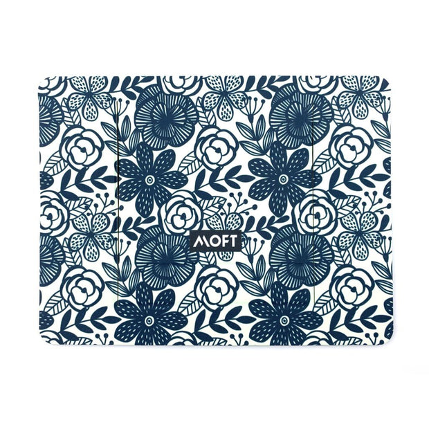 MOFT Laptop Stand | Blue & White Graphic Arts