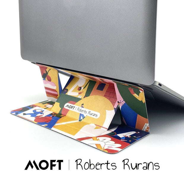 MOFT Laptop Stand | Artist Robert Rurans