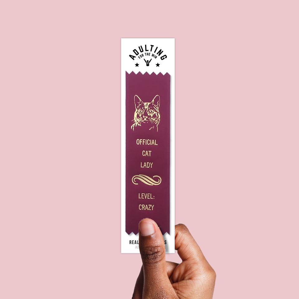 Official Cat Lady - Award Ribbon