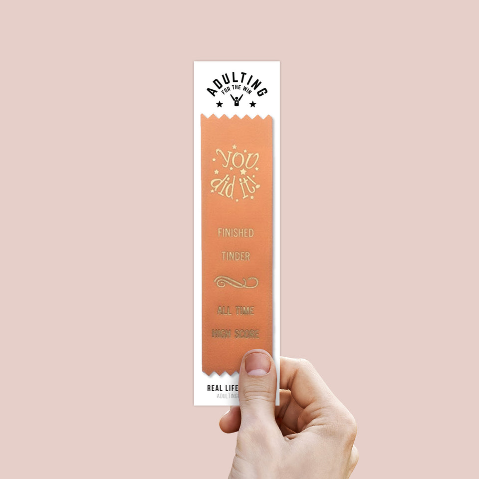 Finished Tinder - Award Ribbon