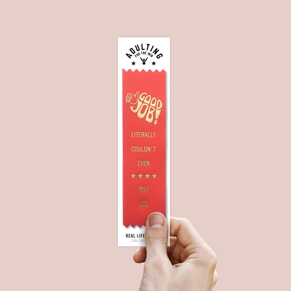 Literally Couldn't Even - Award Ribbon