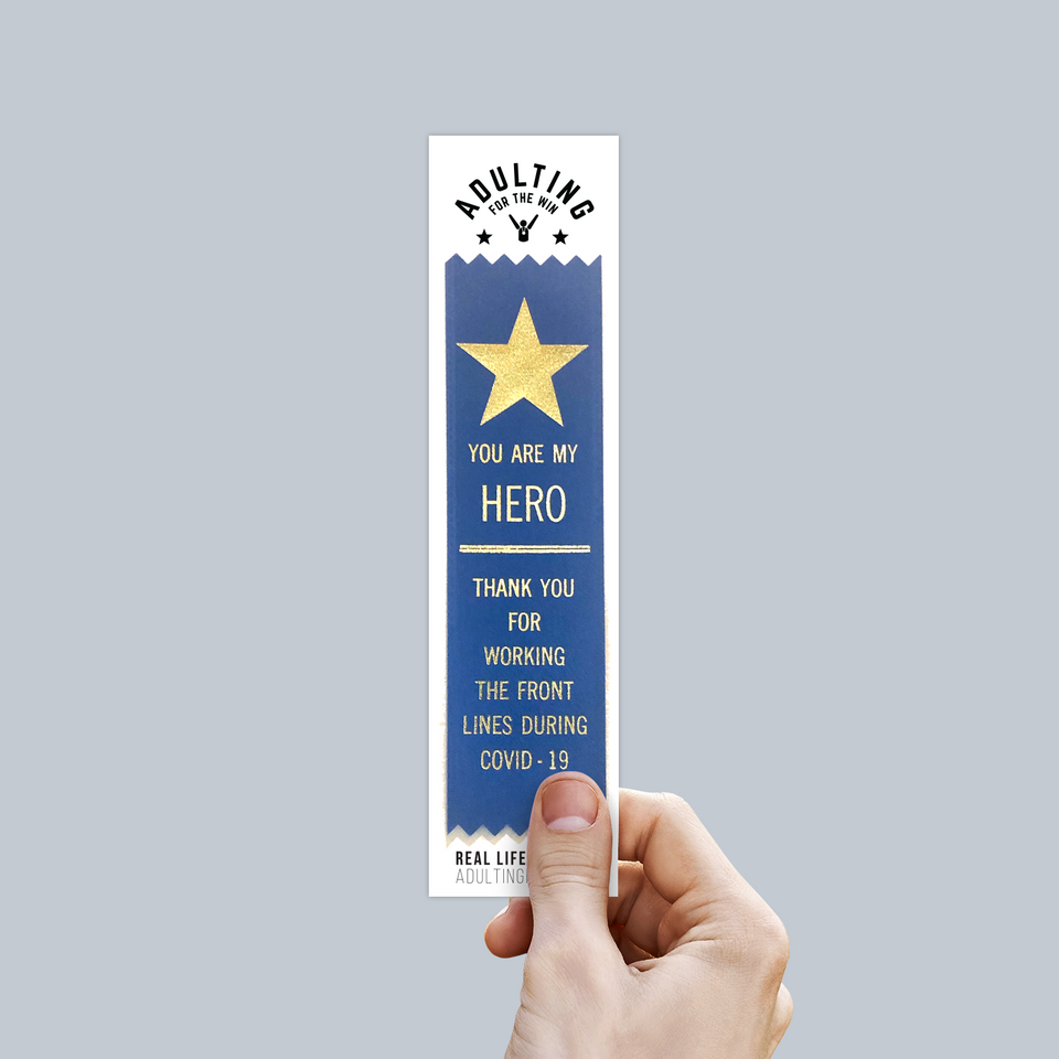 Front Line Hero - Award Ribbon