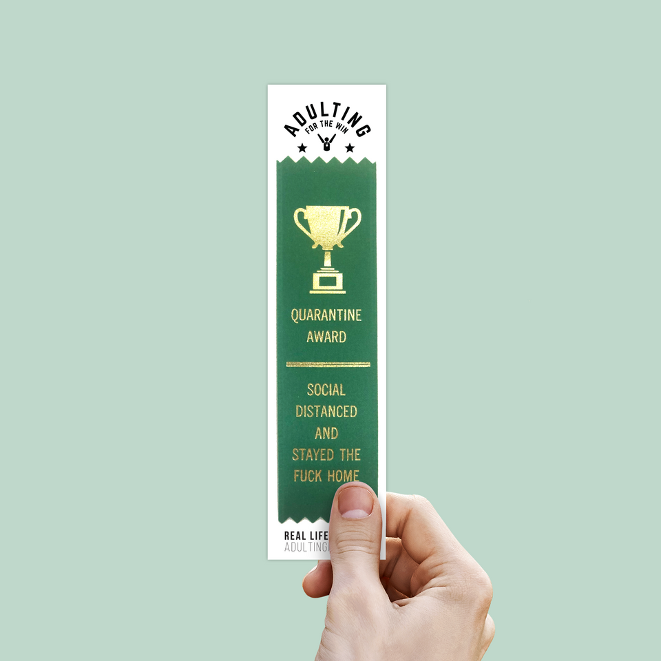 Stayed The F*ck Home- Award Ribbon