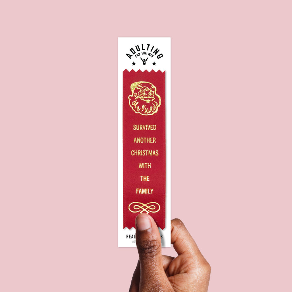 Survived Christmas - Award Ribbon
