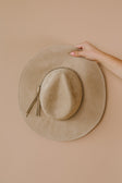 Suede In The Shade Hat In Natural