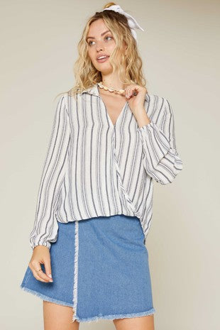 MIRAGE STRIPE TOP