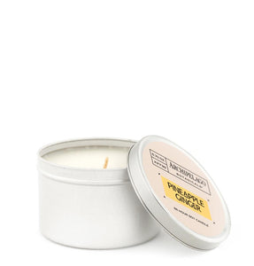 Pineapple Ginger Tin Candle