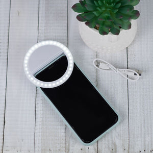 LED Clip On Phone/ Tablet Selfie Light