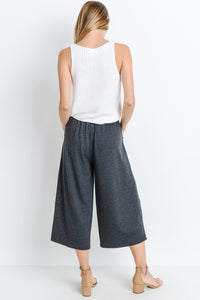French Terry Gaucho Pants