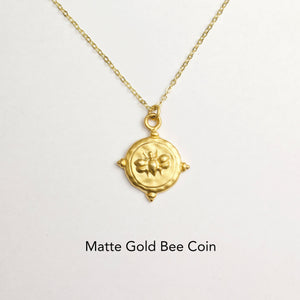 Bee-autiful Coin Necklace