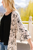 Clusters Cardigan In Blush