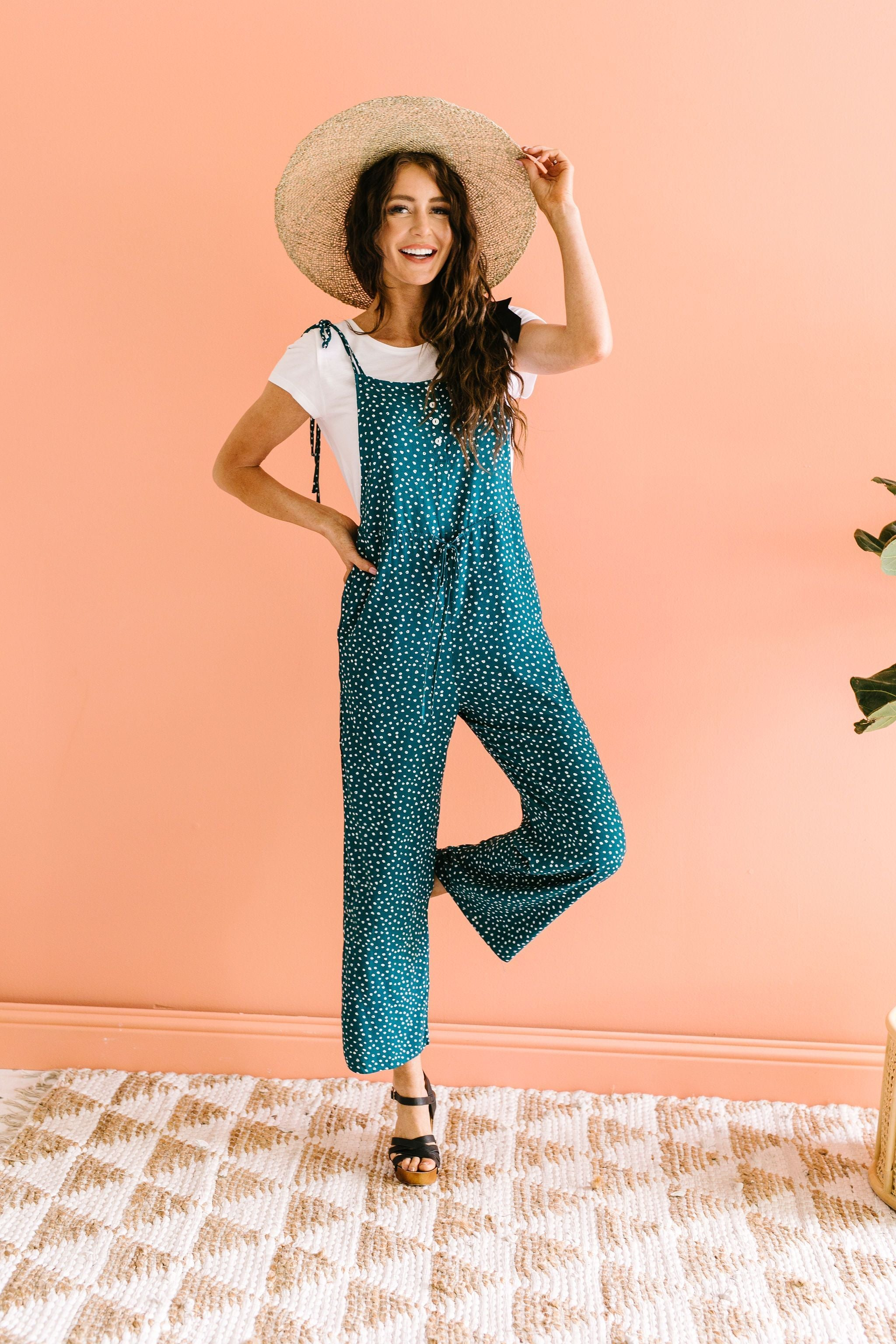 Happy Thoughts & Spots Jumpsuit