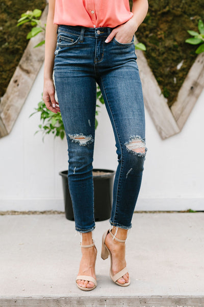 Kneed These Jeans - Kick It Boutique
