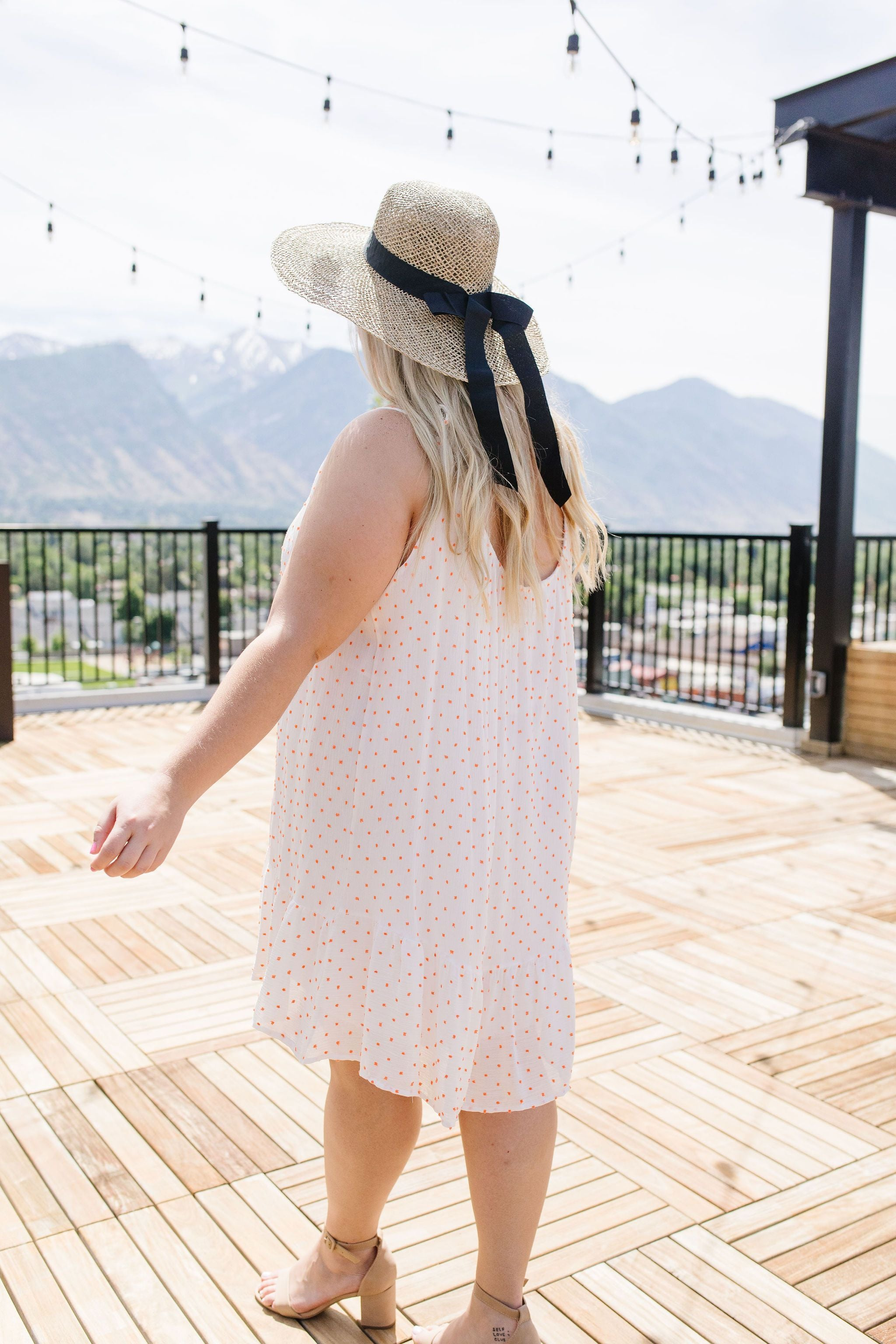 Little Sweetheart Polka Dot Sundress