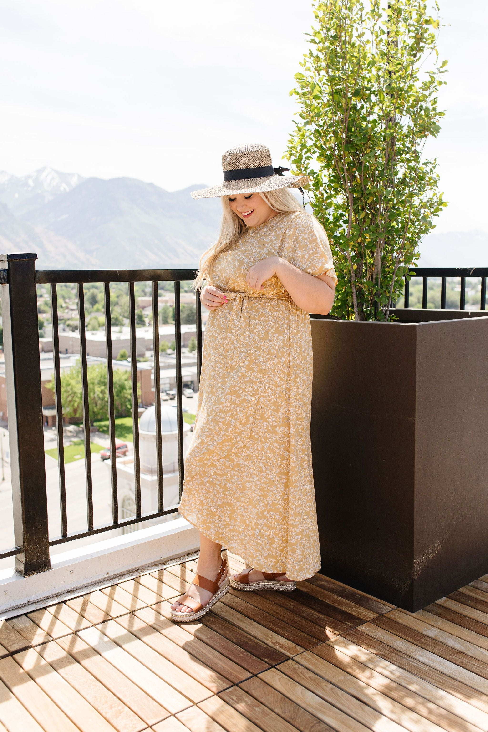 One Honey Of A Maxi Dress