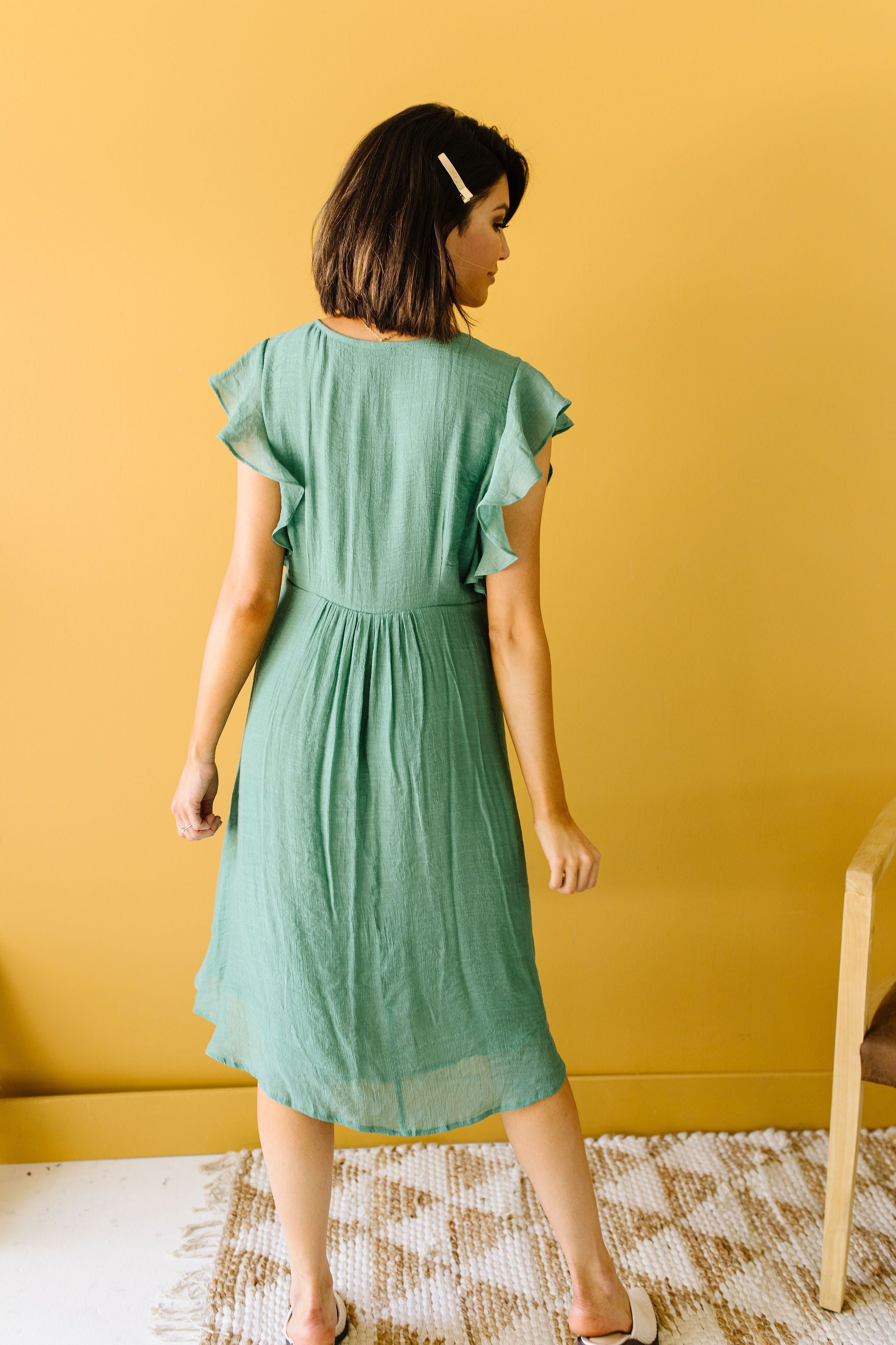 Picture This Sage Midi Dress