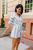 Striped Serendipity Romper
