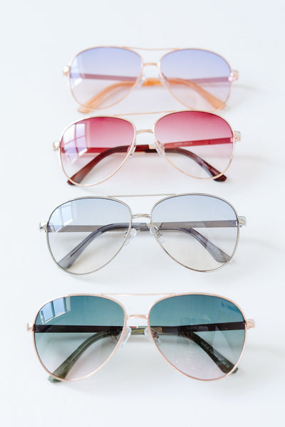 Sunset Aviator Sunnies Style #3 - Kick It Boutique