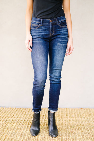 Tall Dark And Fabulous Jeans - Kick It Boutique