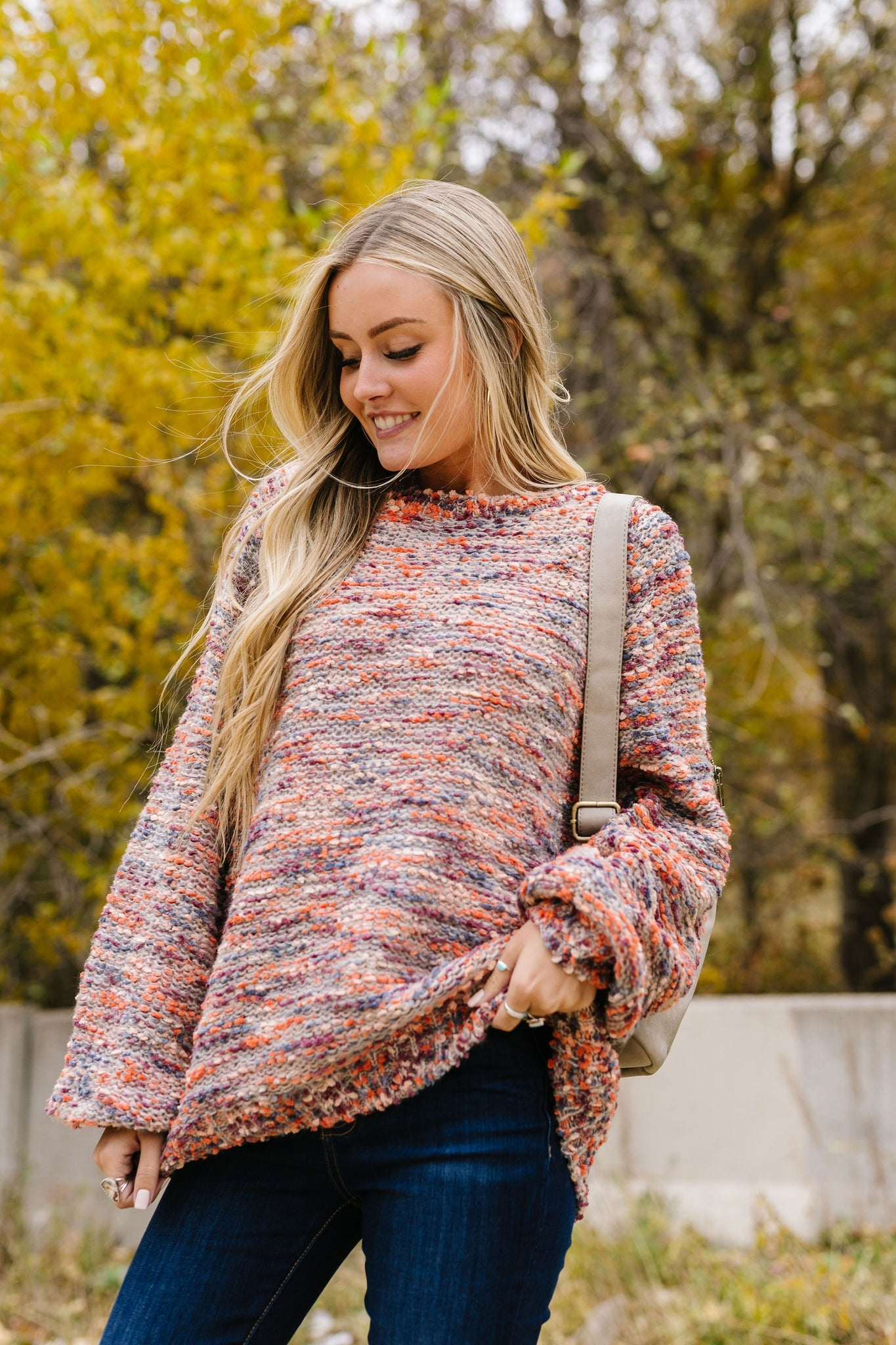 Warm Fuzzies Multi-Color Sweater