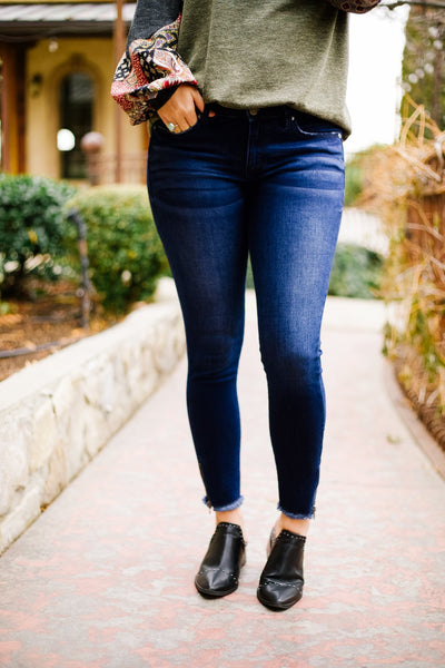 Zip-a-Dee-Doo-Dah Skinny Jeans - Kick It Boutique