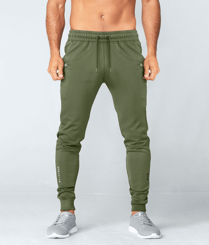 Born Tough Momentum Track Suit Jogger Pants Military Green