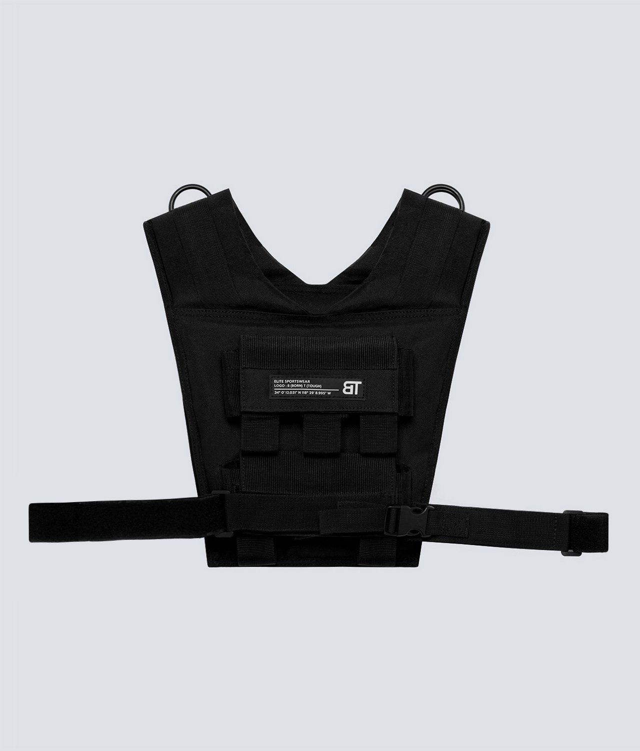 Born Tough United Kingdom Adjustable Weighted Vest