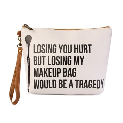"""Losing you Hurt.."" Makeup Bag"