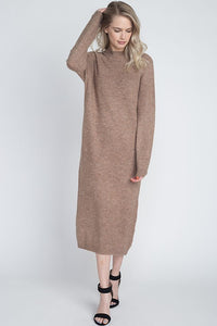 Midi Length Sweater Dress