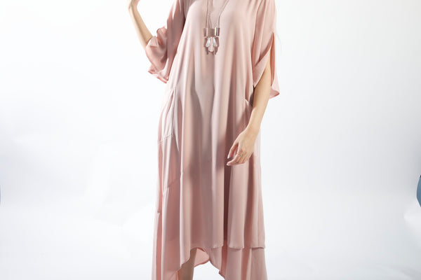 Maxi Pink Casual