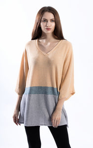 Oversize Texture Knit Top