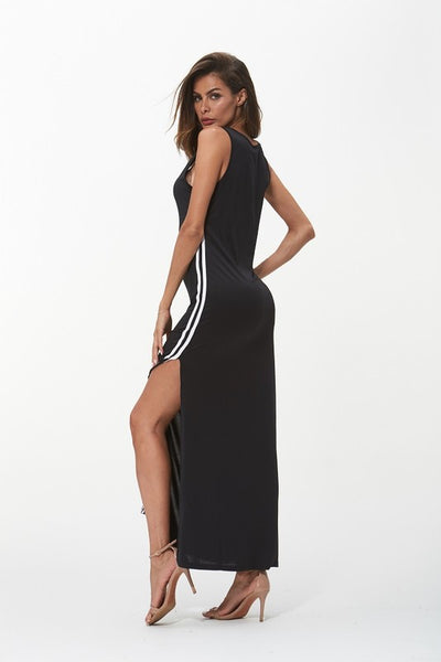 Side Stripe Maxi