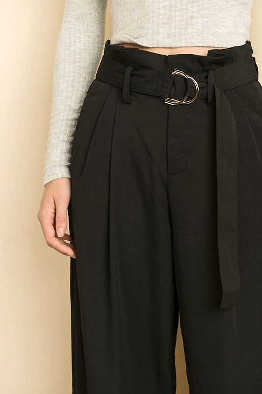 Lightweight Belted Culottes