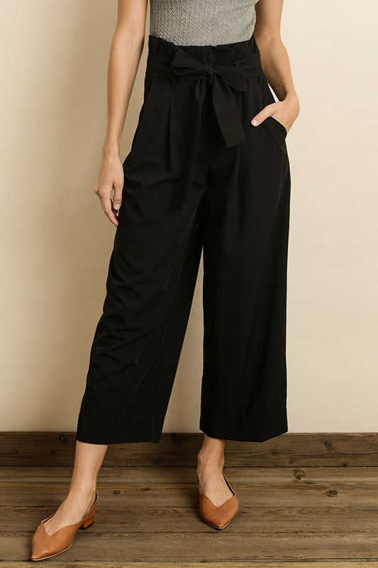 High Waist Culotte Pants