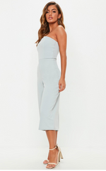 Jumpsuit with Grey V Bar