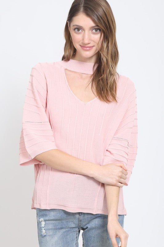 Blush Stylish Top