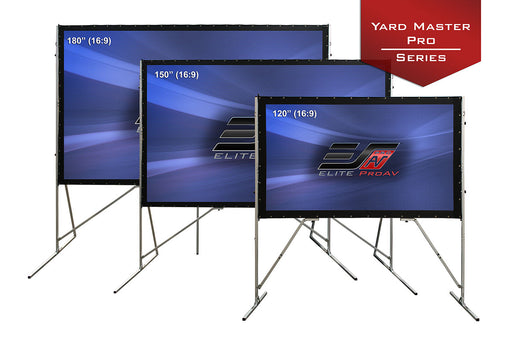 Elite Screen's Yardmaster Pro Series