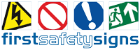 First Safety Signs