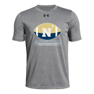 Navy Football Brotherhood Under Armour Short Sleeve Tee