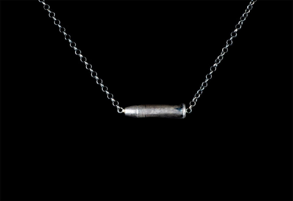 .22 BULLET NECKLACE - Rock and Jewel