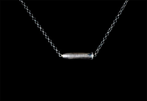 .22 BULLET NECKLACE