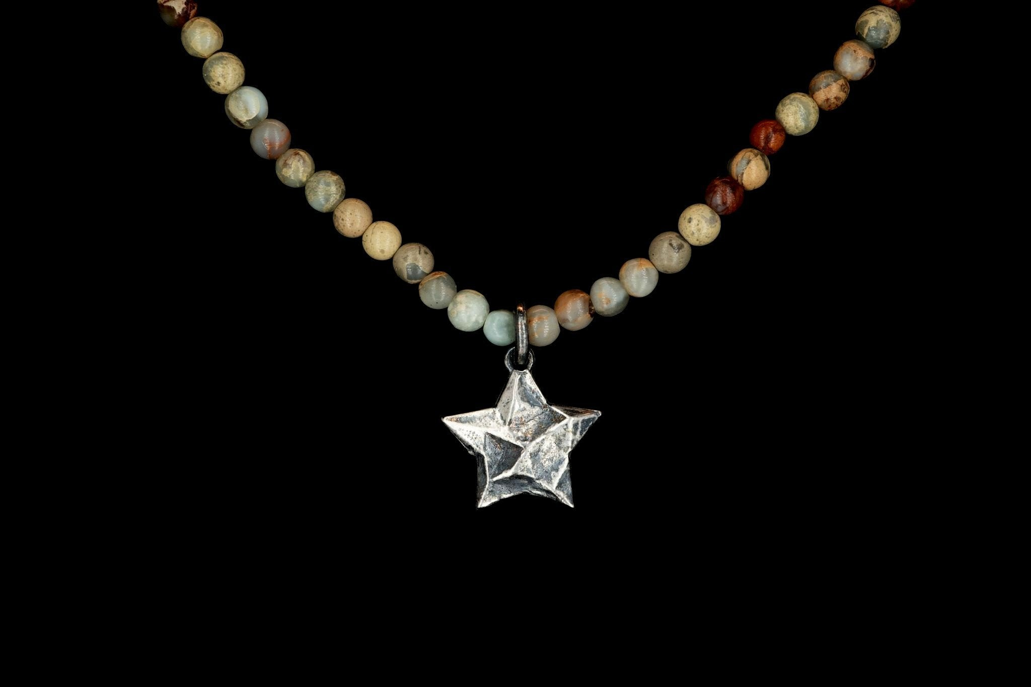 AFRICAN OPAL SEA STAR NECKLACE