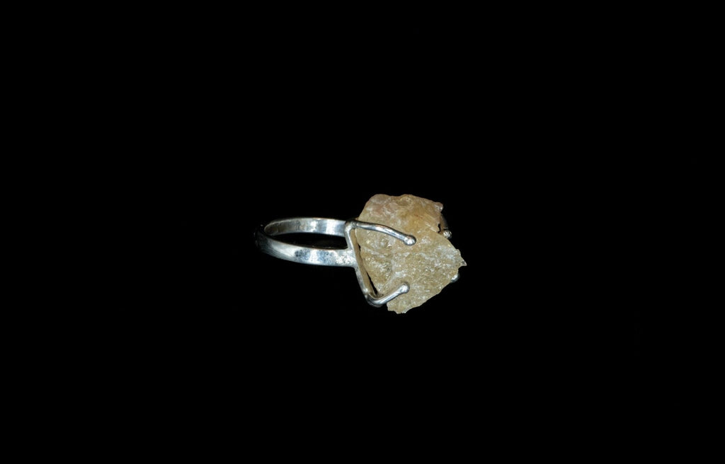CITRINA ROCK RING - Rock and Jewel