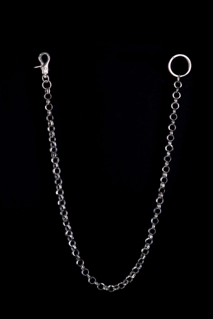DOUBLE RINGED KEY CHAIN - Rock and Jewel