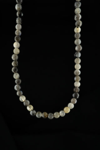 GRAY AGATHA NECKLACE