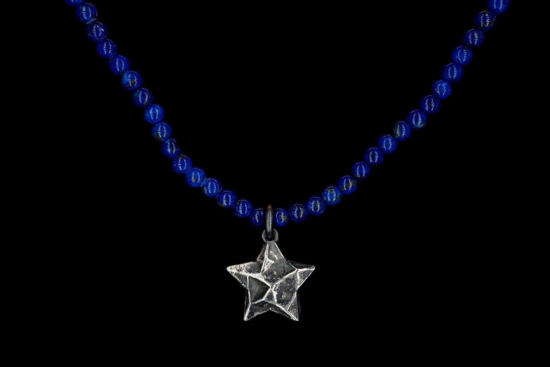 LAPISLAZULI SEA STAR NECKLACE